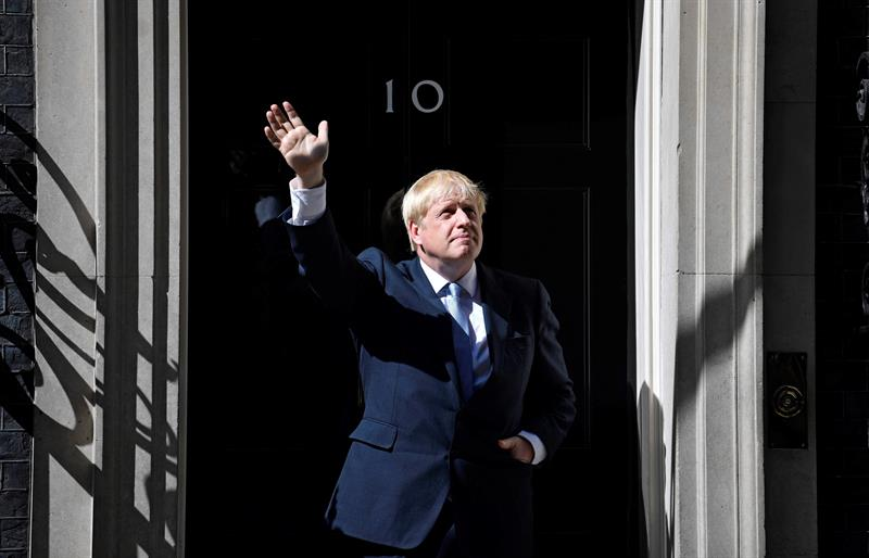Boris Johnson, Gran Bretaña