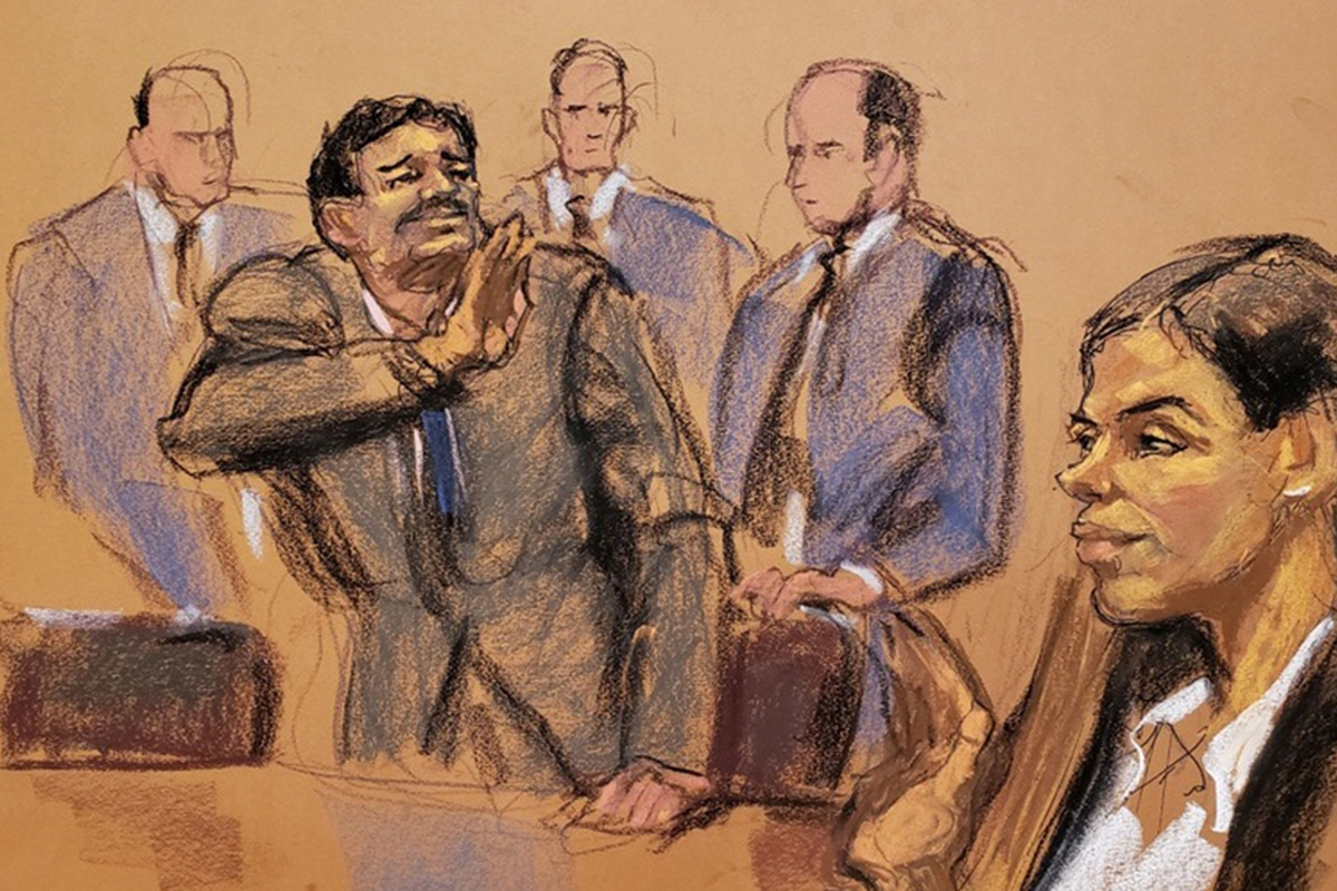 El Chapo Guzmán, Chapo, Juicio, Nueva York, Emma Coronel,