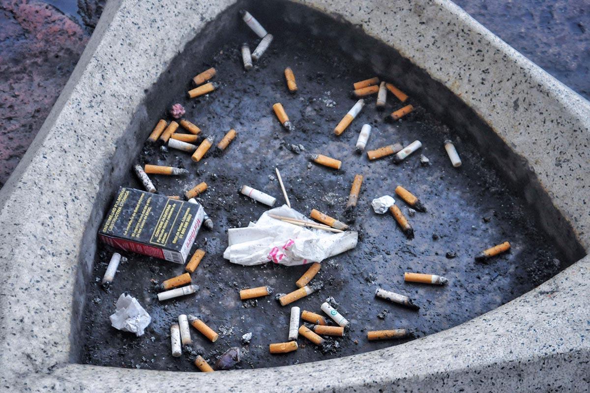 colillas, tabaco, cigarro, medio ambiente