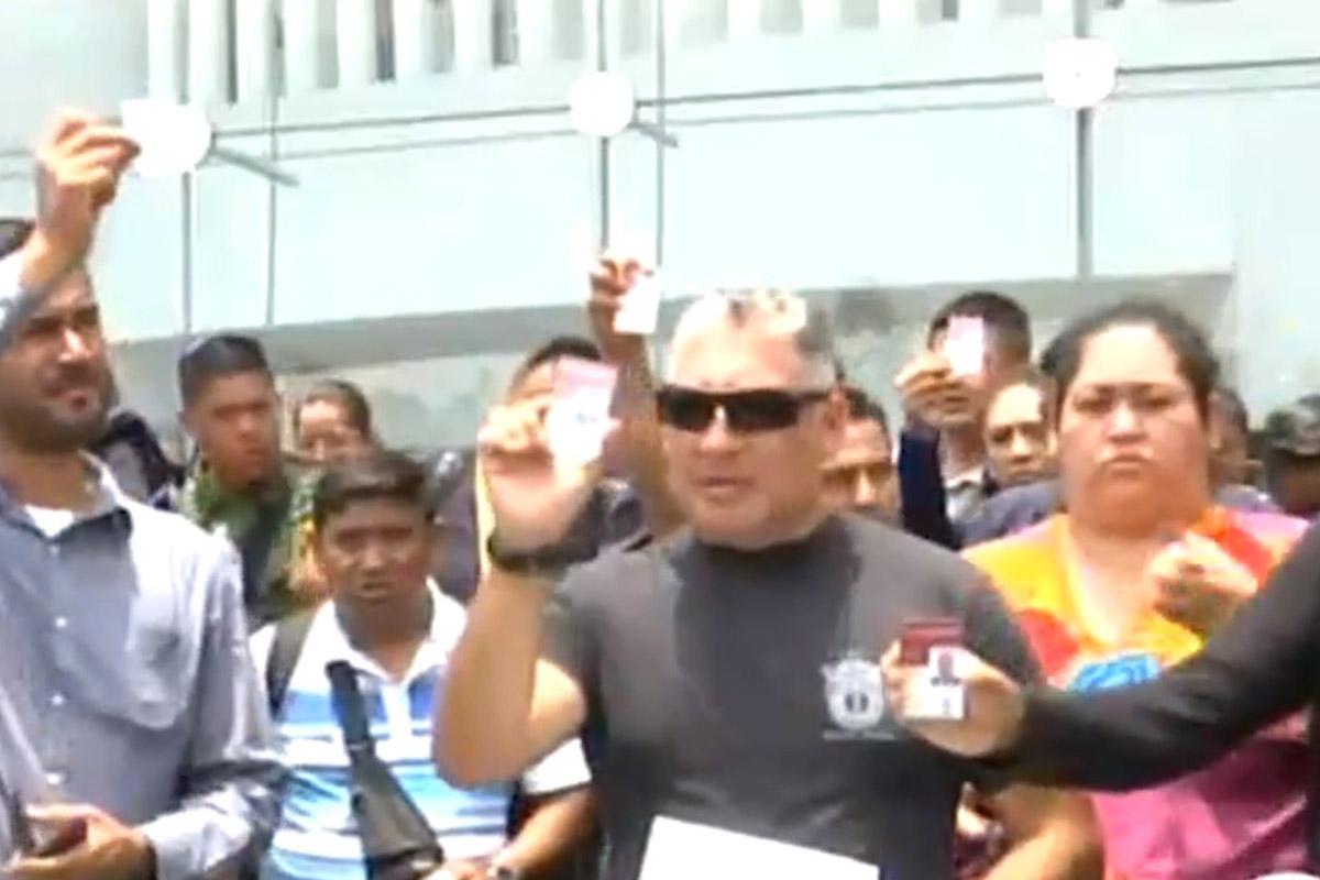 Policía Federal, Alfonso Durazo, López Obrador, protestas, Guardia Nacional,