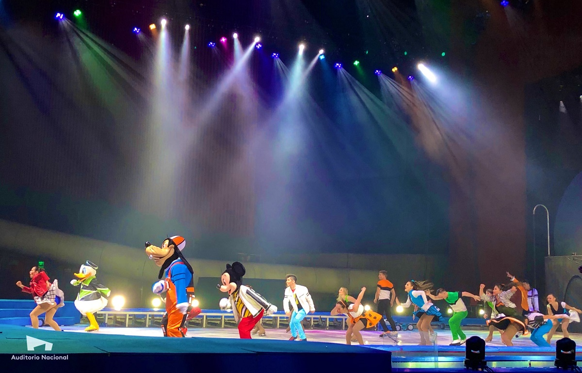 Disney on ice 2019/Foto: Auditorio Nacional