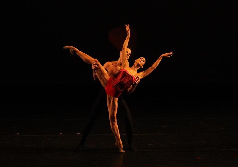 La bailarina Elisa Carrillo anoche en el Auditorio Nacional