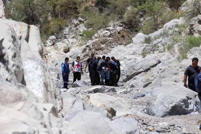 Coahuila, excursionistas