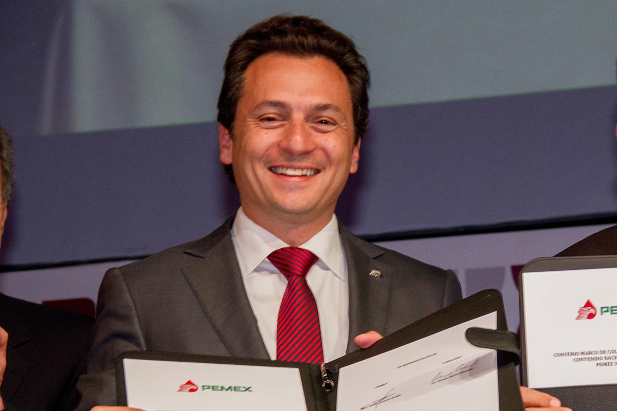 Emilio Lozoya, Pemex, exdirector, juez, Altos Hornos de México,