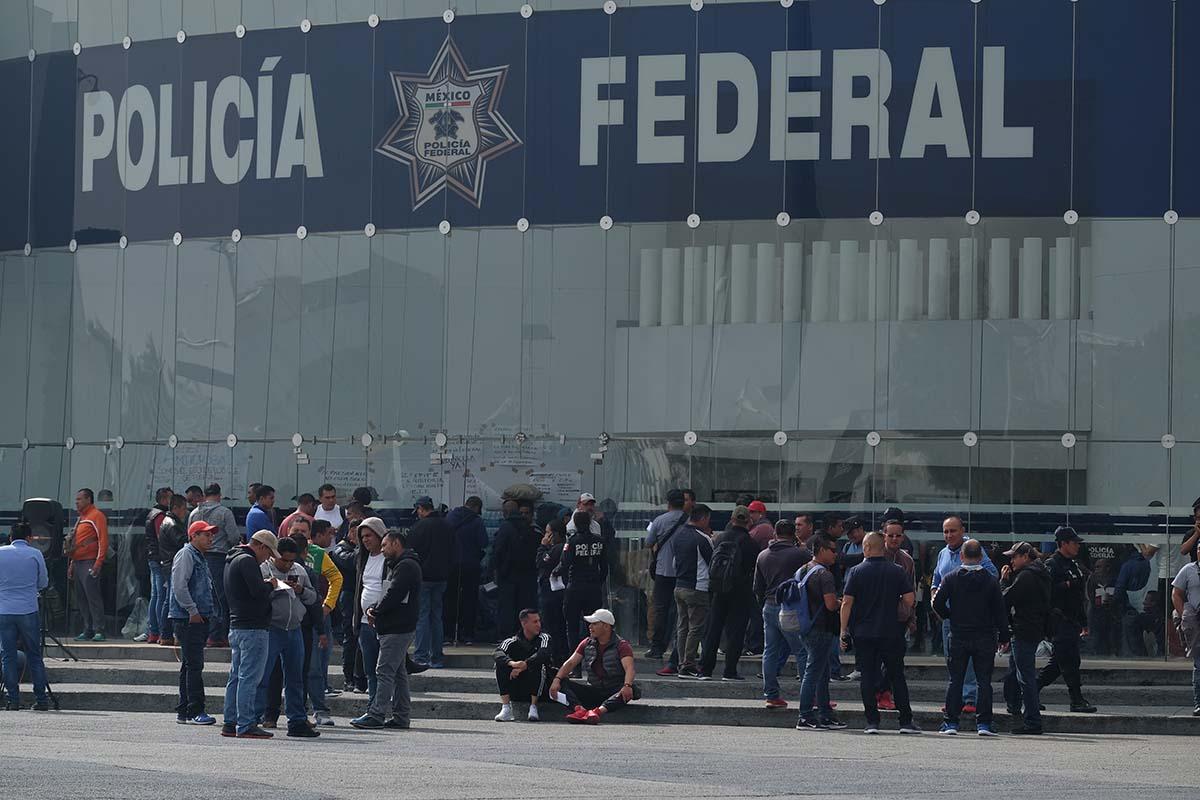 Secretario de Seguridad Pública y Protección Ciudadana, Alfonso Durazo, Policía Federal, Seguridad, protestas,