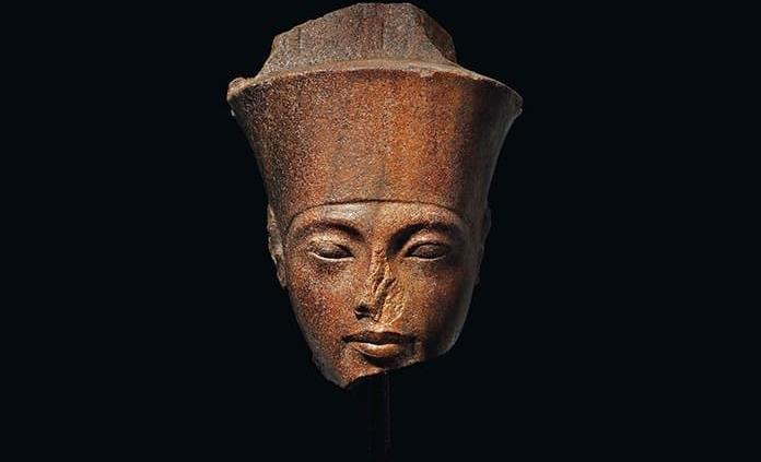 Busto de Tutankamón subastado