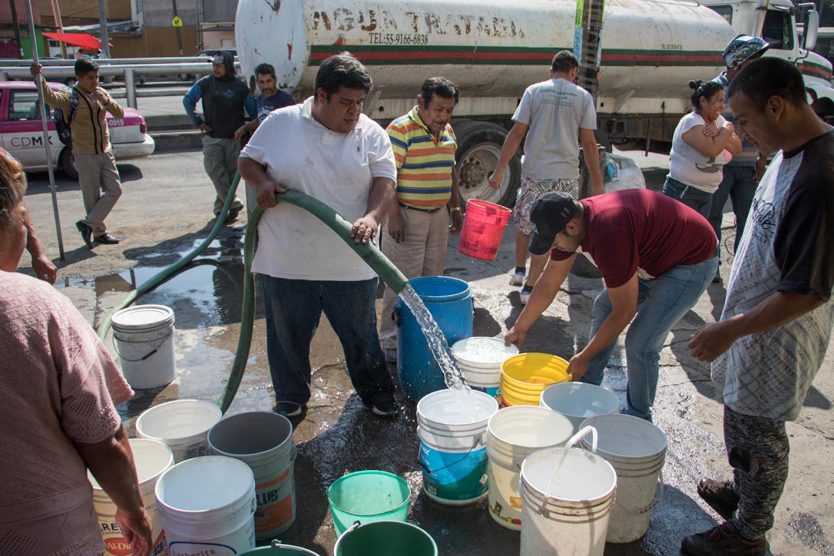 Agua, desabasto, CDMX, Inseguridad, José Luis Luege Tamargo,