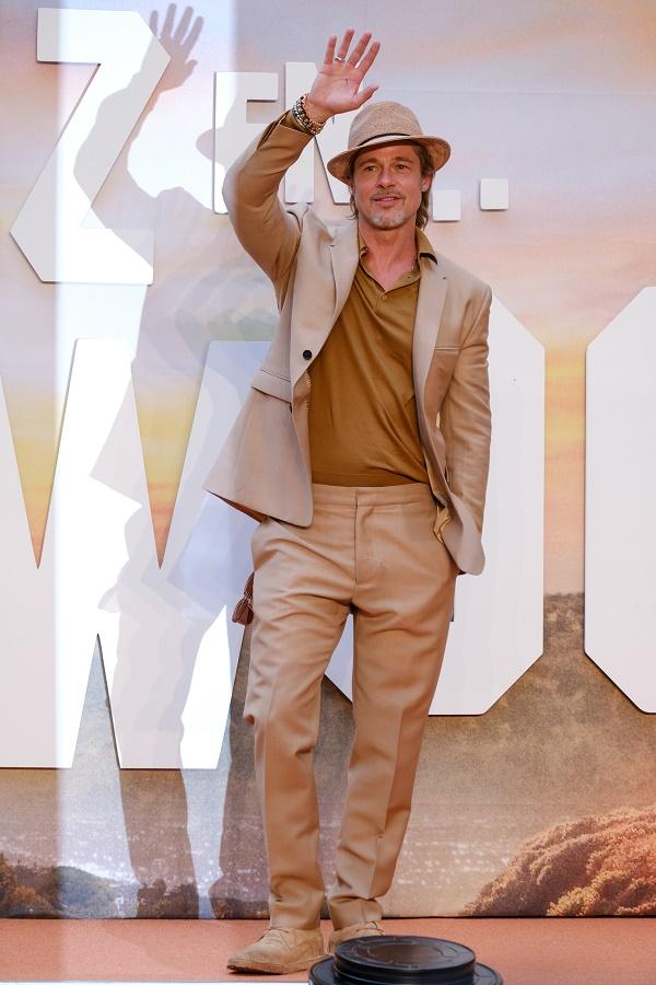 """CIUDAD DE MÉXICO, 12AGOSTO2019. - El actor Brad Pitt, asistió a la Alfombra Roja de la película """"Once Upon a Time in Hollywood"""", que se traduce al español como """"Había una vez en Hollywood"""", la cual se estrenará en todos los cines a partir del 23 de agosto.  FOTO: GRACIELA LÓPEZ /CUARTOSCURO.COM"""