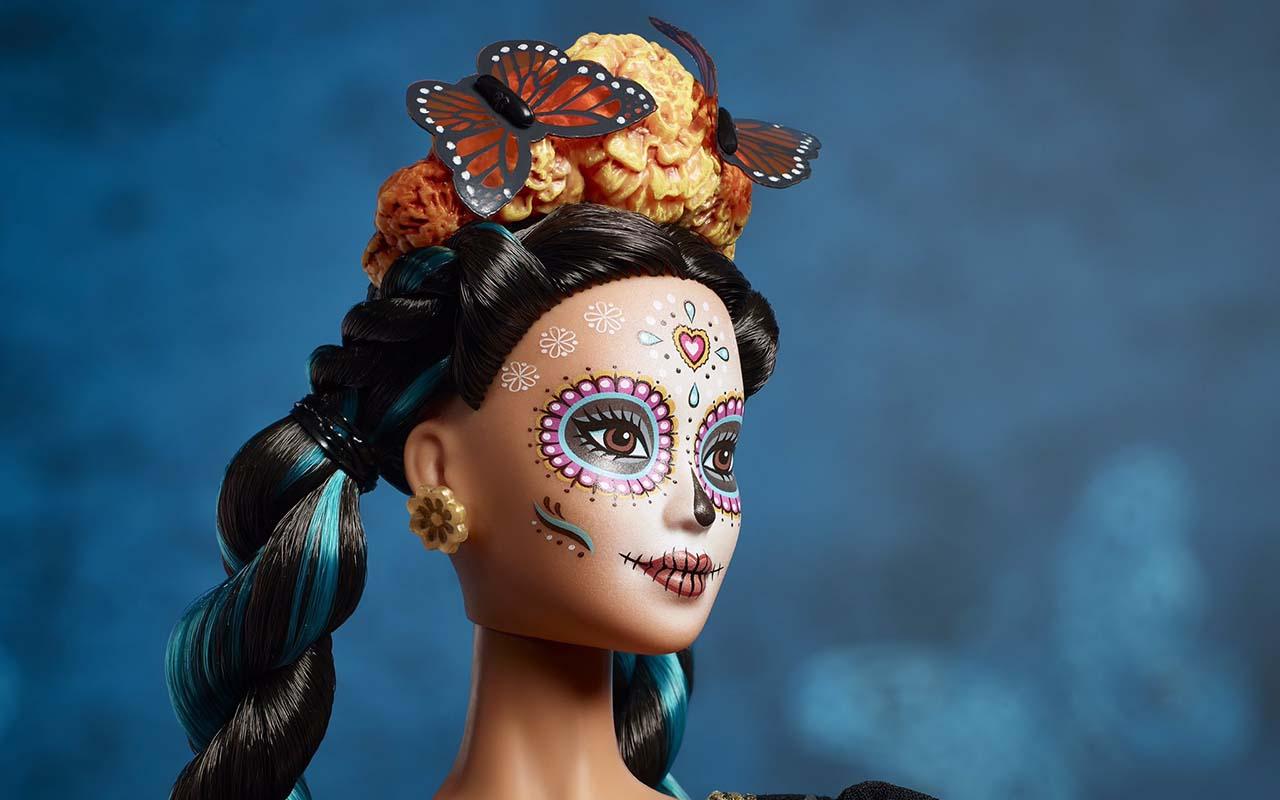 Barbie, Catrina, Mattel, muñeca, José Guadalupe Posada, Día de Muertos,