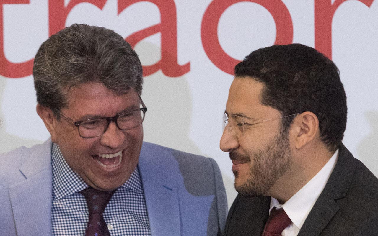 Ricardo Monreal, Martí Batres, Senado, Morena, Mesa Directiva,