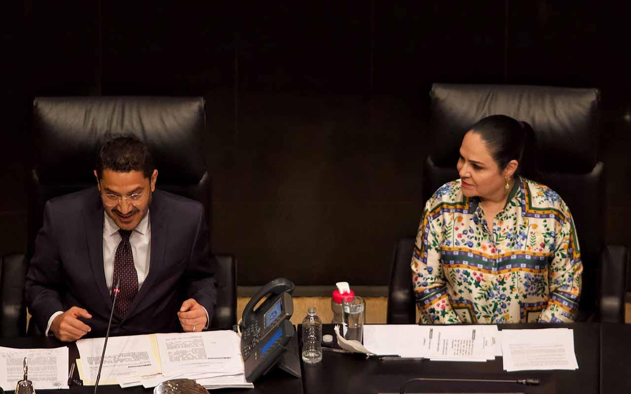 Morena, Martí Batres, reelección, Mesa Directiva del Senado, Ricardo Monreal,