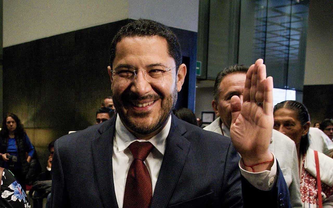 Senado, Mesa Directiva, Martí Batres, Mónica Fernández, Ricardo Monreal,