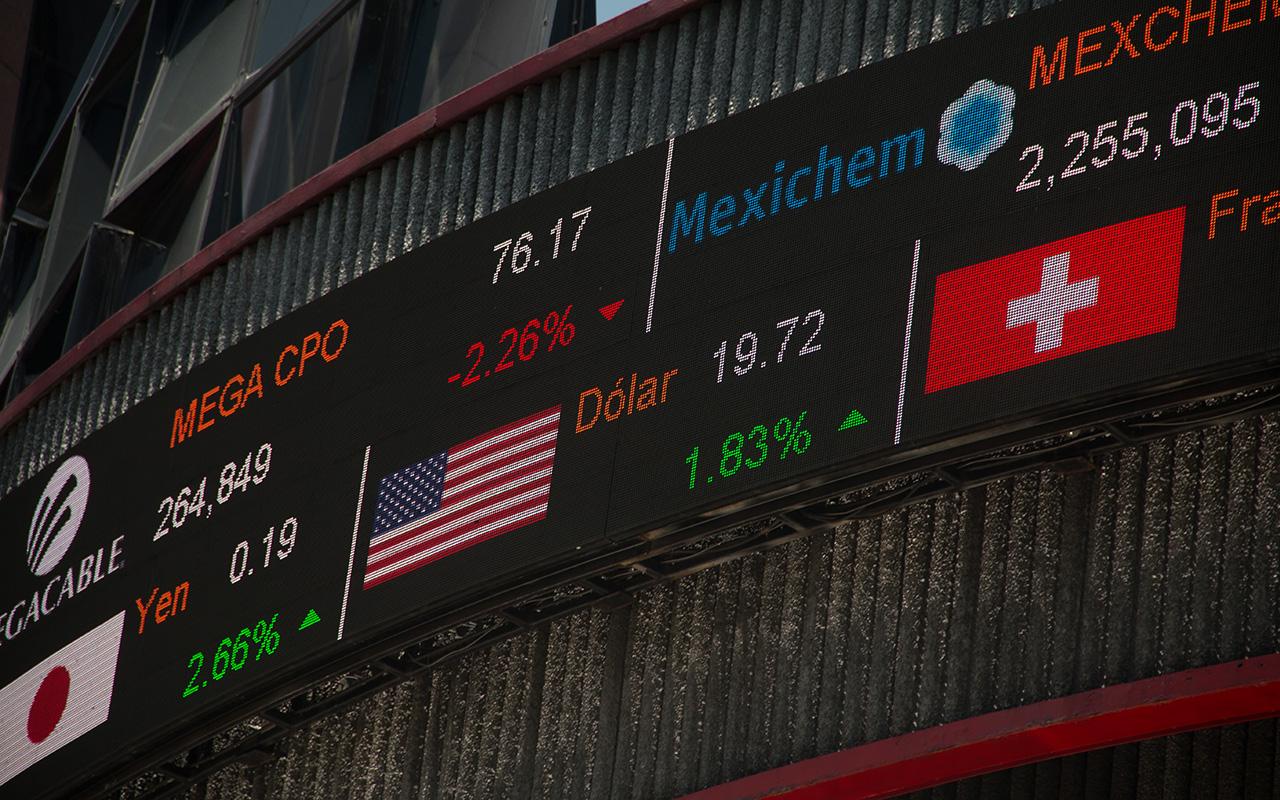 Bolsa Mexicana de Valores, caída, Índice de Precios y Cotizaciones,