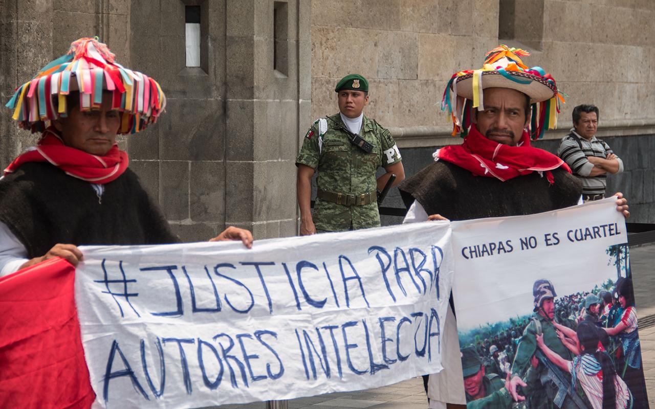 Acteal, Chiapas, Las Abejas, EZLN, Alejandro Encinas,