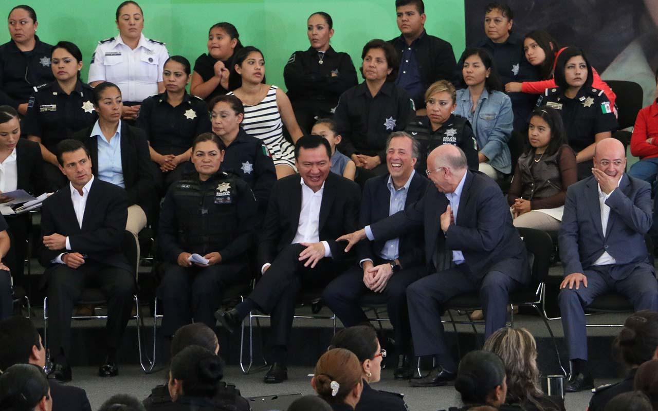 Peña Nieto, funcionarios, Renato Sales, excomisionado Nacional de Seguridad,