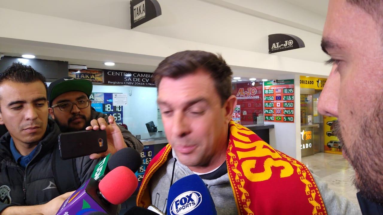 Pablo Guede llega a Morelia. Foto: Twitter