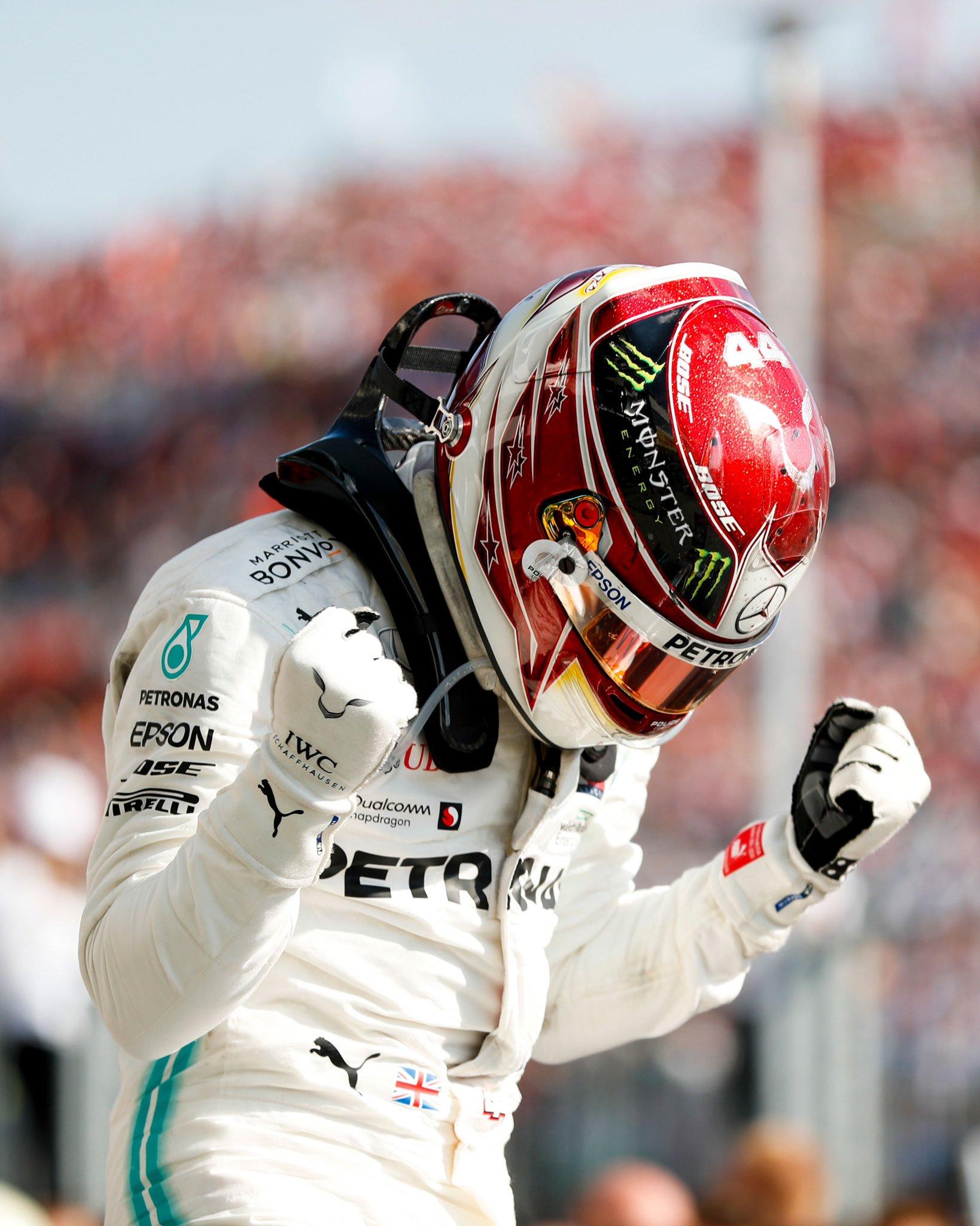 Hamilton se quedó con el Gran Premio de Hungría. Foto: Twitter