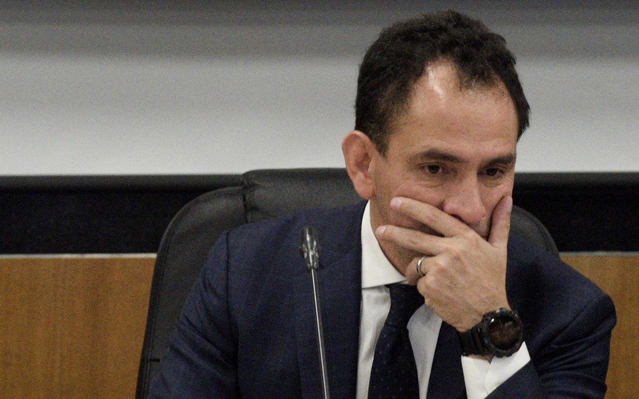 Arturo Herrera, SHCP, Palacio Nacional, José Antonio Meade, Antonio González Anaya, reunión,