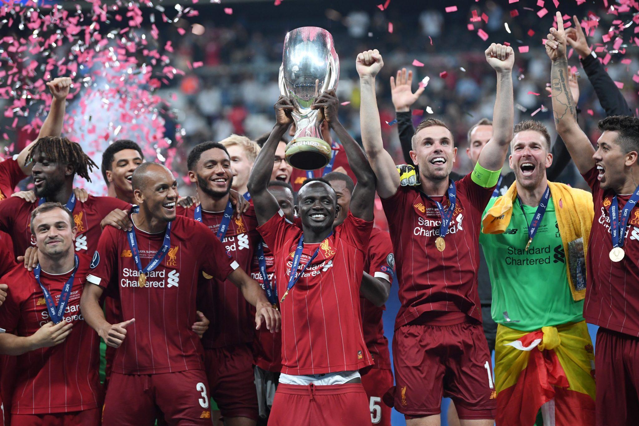 Liverpool, Monarca de la Supercopa. Foto: Twitter