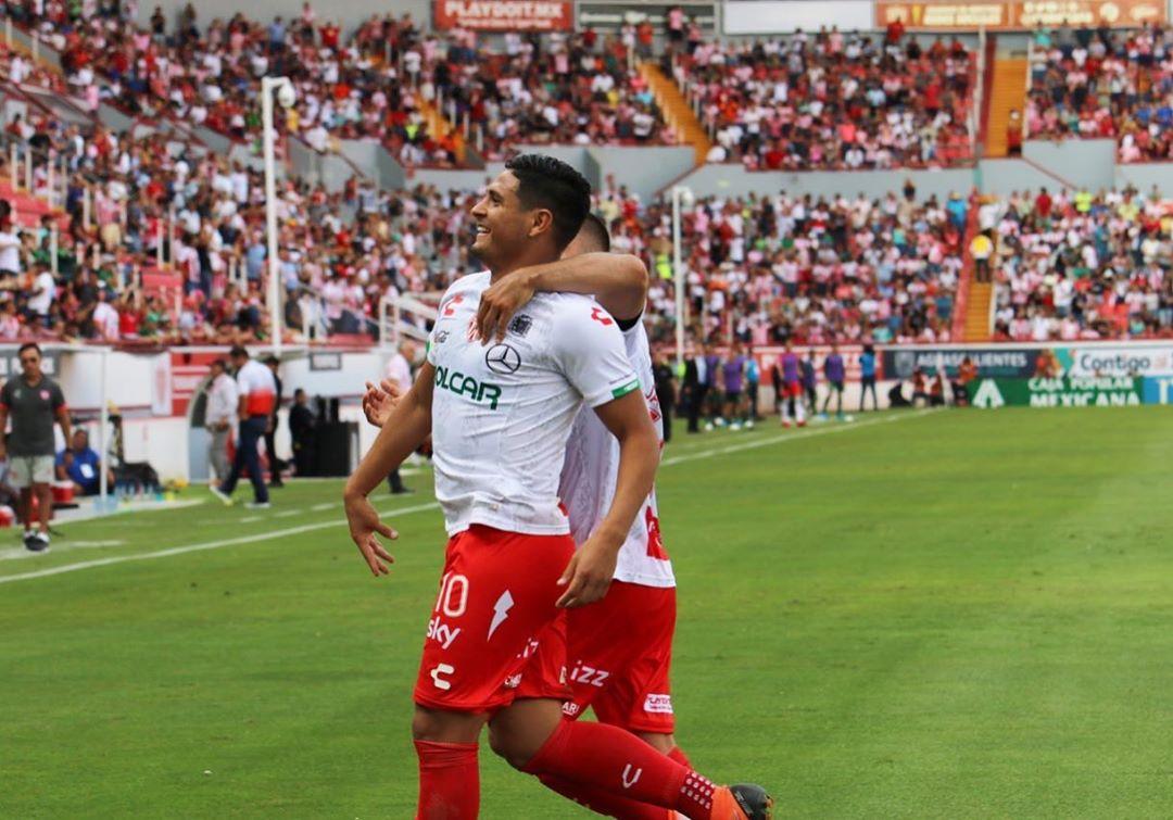 Necaxa dio cuenta de Santos. Foto: Twitter