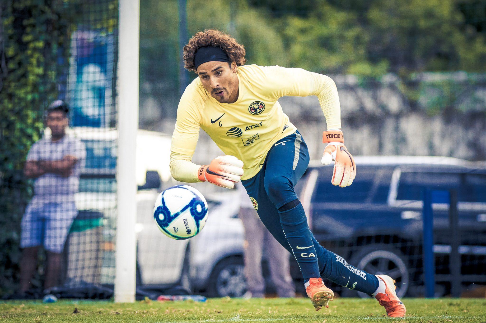 Ochoa, listo para debutar. Foto: Twitter