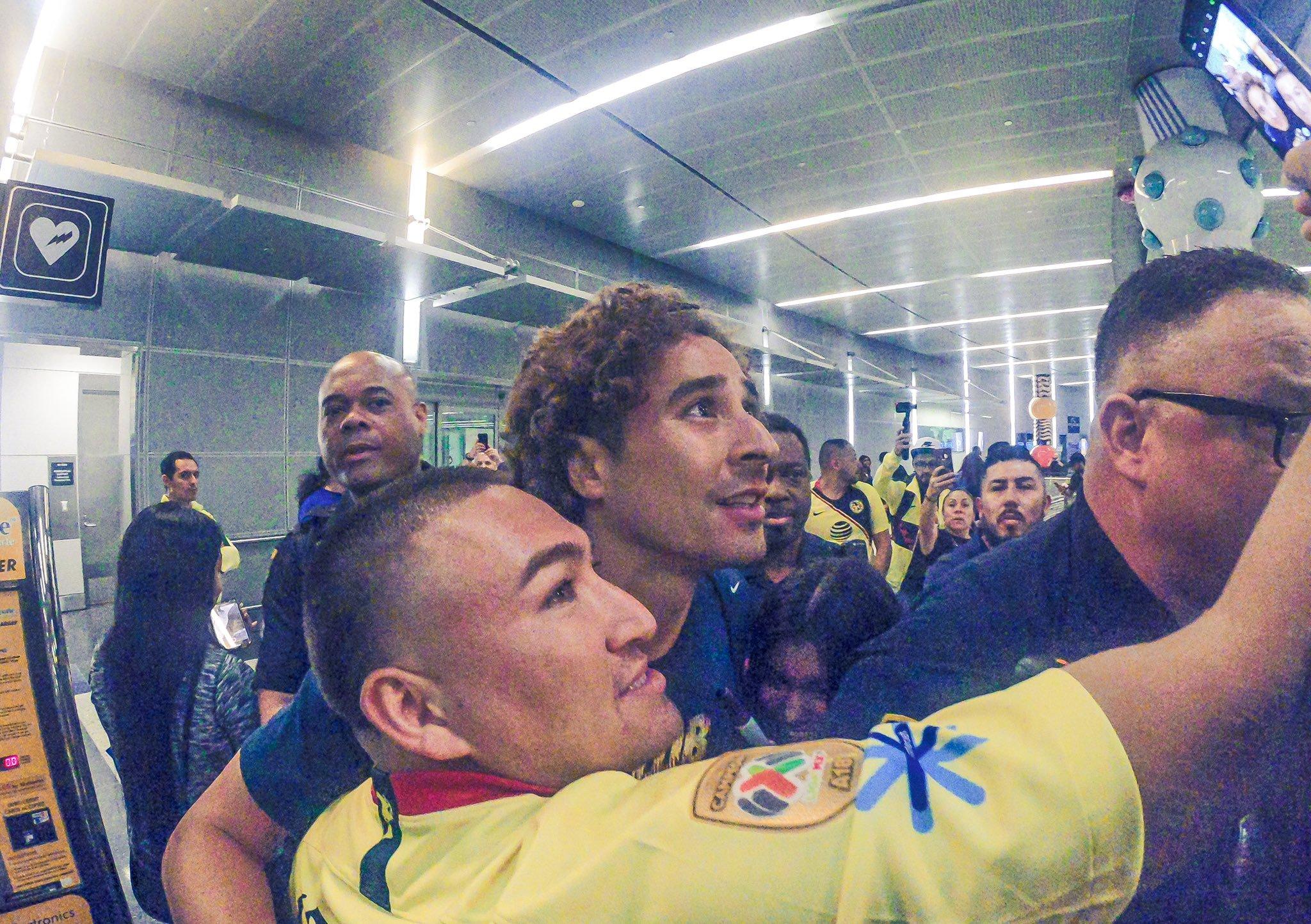 Ochoa listo para debutar. Foto Twitter