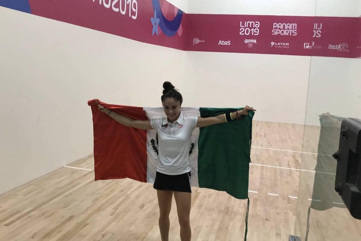 Paola logró otra medalla para México. Foto: Twitter