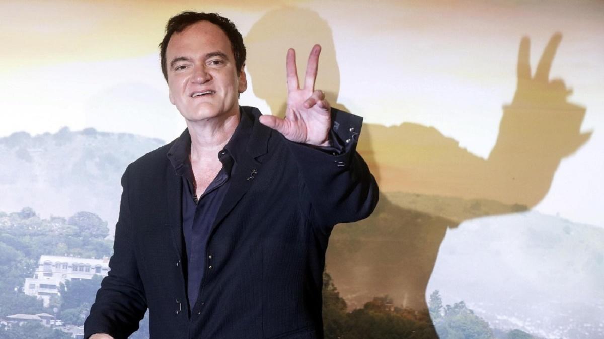 """Quentin Tarantino en la promoción de """"Había una vez... en Hollywood"""