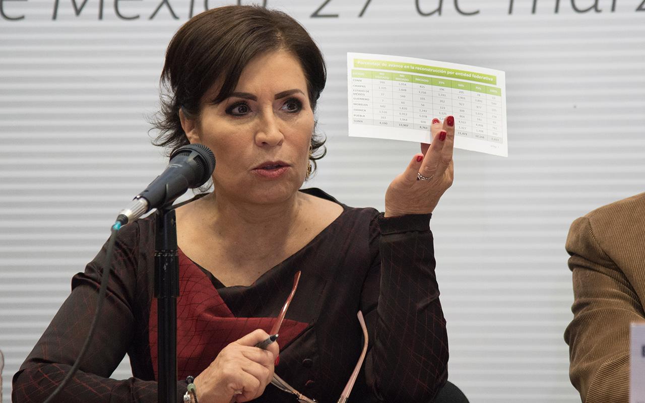 Rosario Robles, Estafa Maestra, Suprema Corte de Justicia de la Nación, Reclusorio Sur,