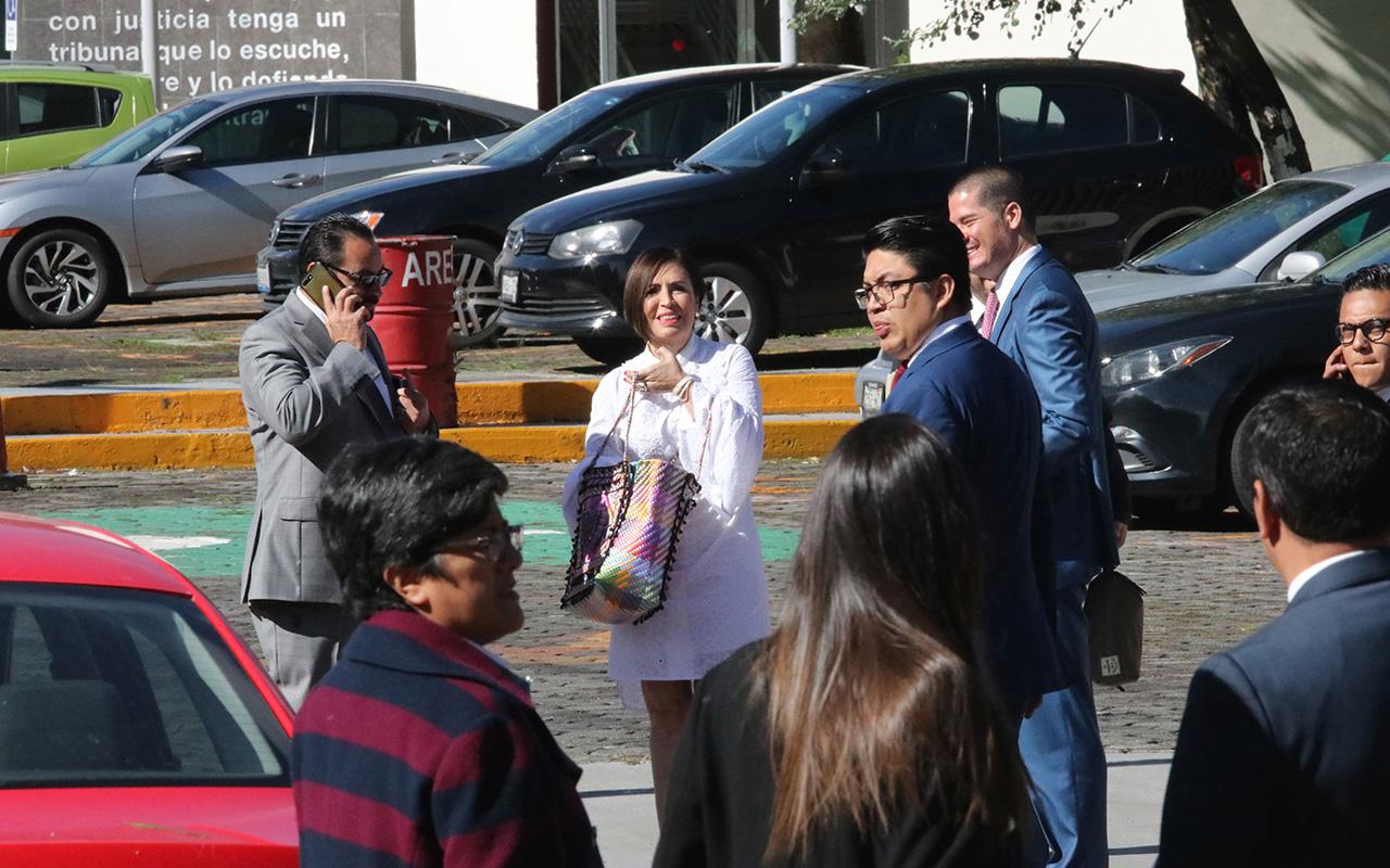 Rosario Robles, Dolores Padierna, Felipe de Jesús Delgadillo Padierna, juez, Penal Santa Martha, Estafa Maestra,