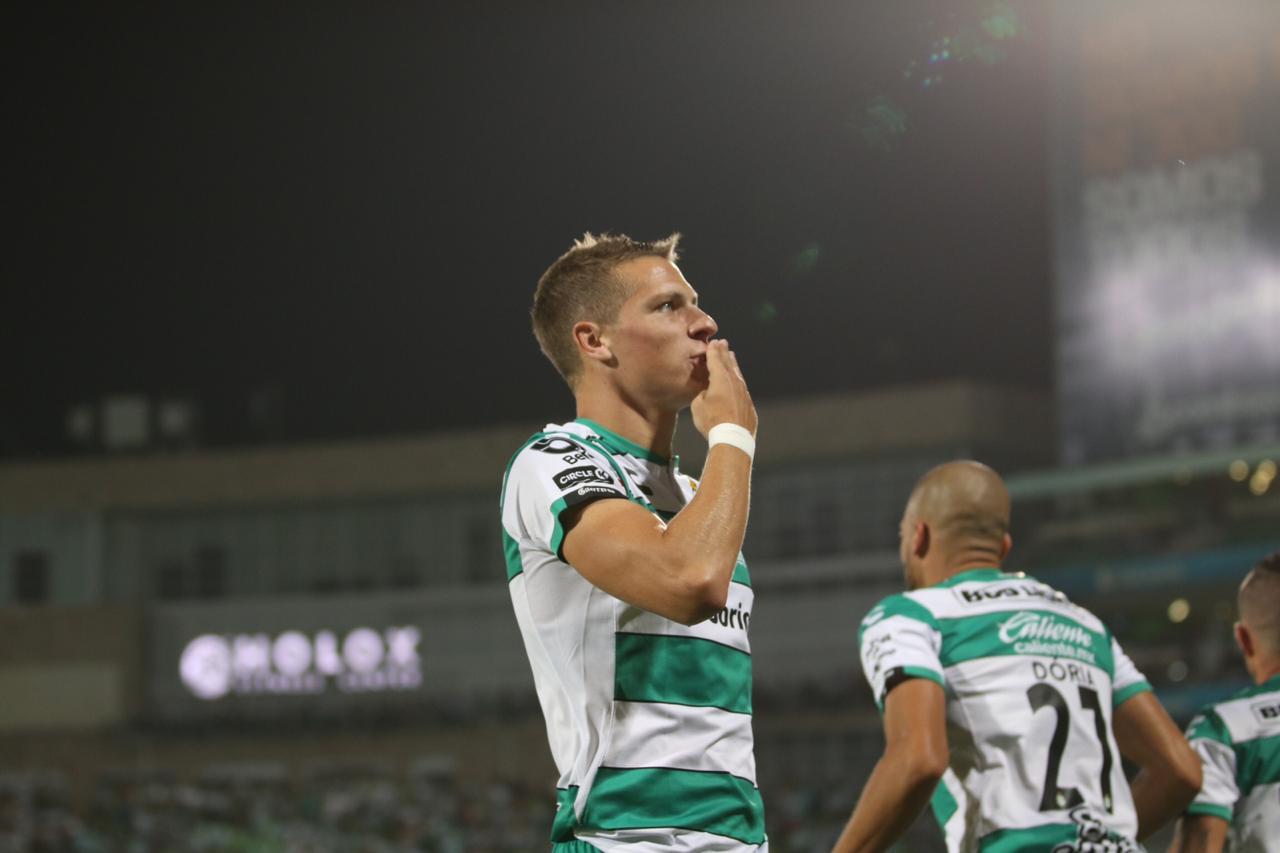Santos le pegó a Monterrey, Foto: Twitter