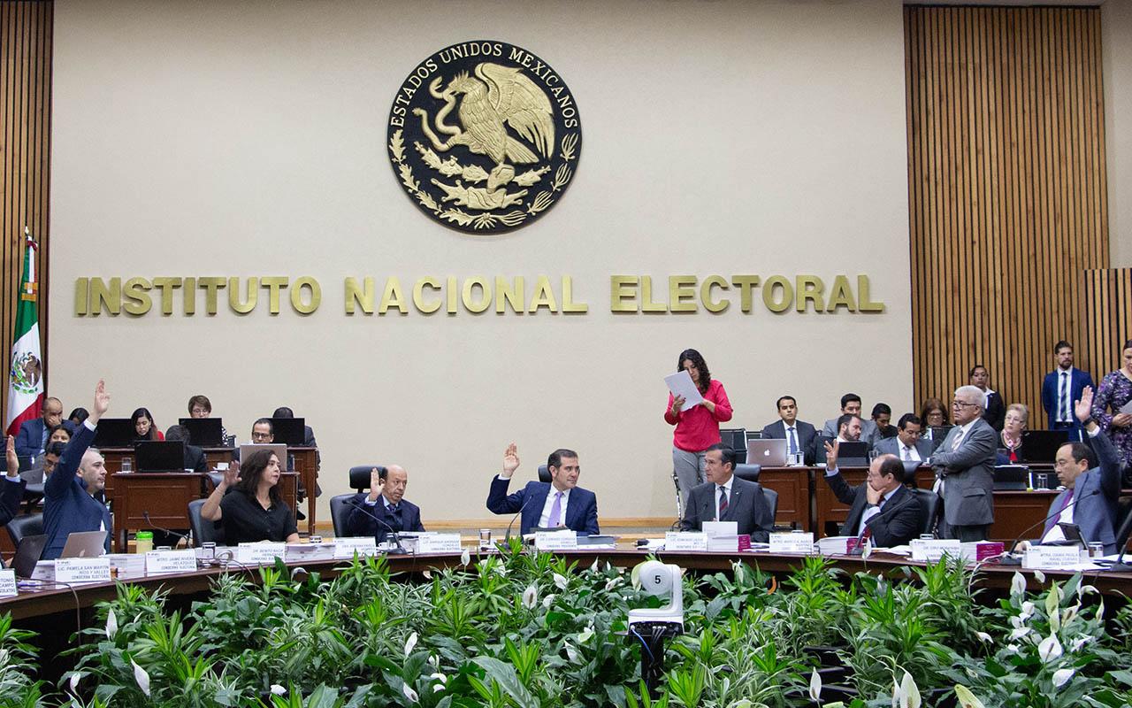 INE, Partidos políticos, financiamiento, Instituto Nacional Electoral, Morena, PAN, PRI, PRD, PT,