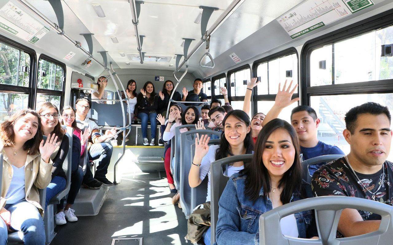 Transporte escolar, Sendero Seguro, universidades privadas, Claudia Sheinbaum Pardo, Universidad del Pedregal, Seguridad,