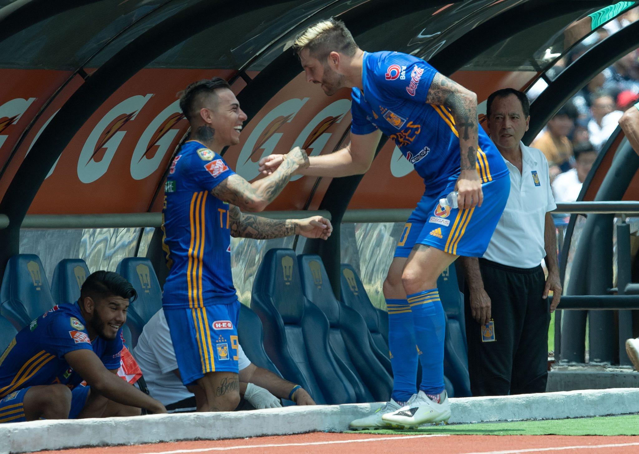 Tigres se impuso a Pumas. Foto: Twitter