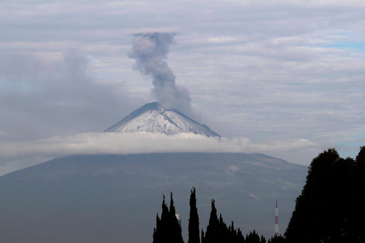 volcán Popocatépetl, Protección Civil, Cenapred