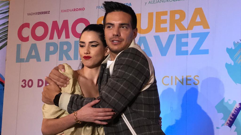 Vadhir Derbez y Ximena Romo/Foto: Siete24