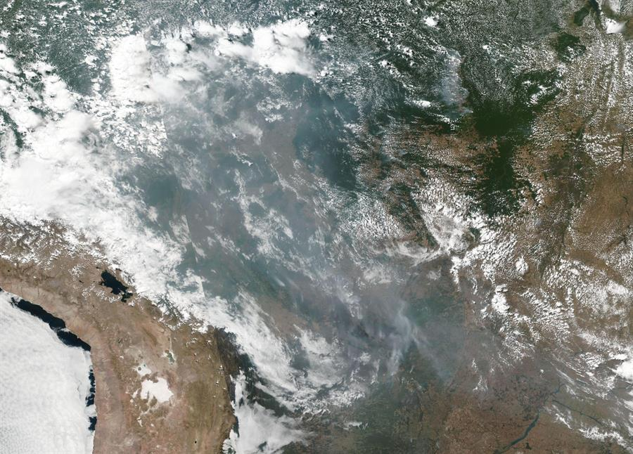 Incendios forestales, Amazonas, Brasil, América Latina