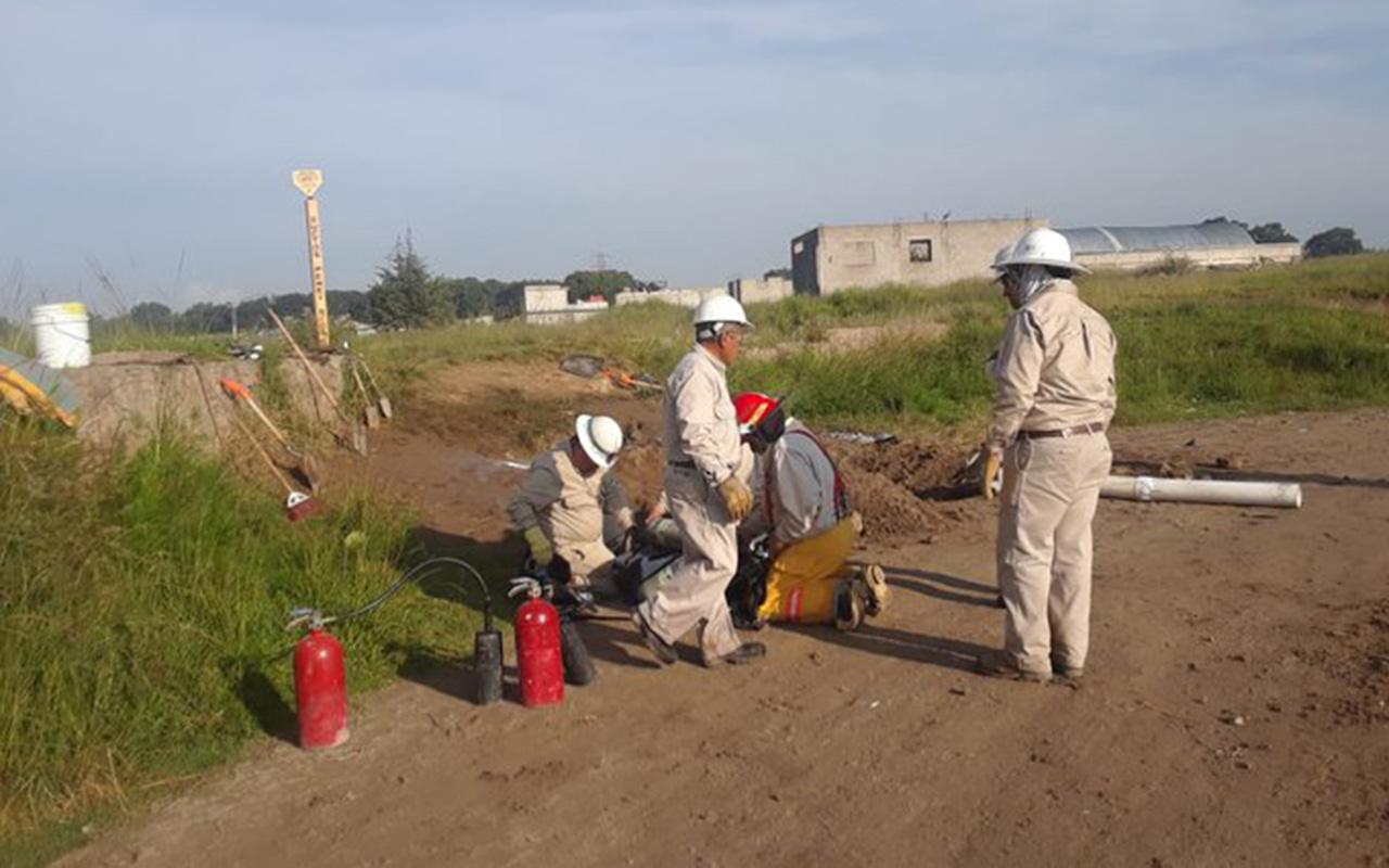Amozoc, Puebla, Protección Civil, fuga, Gas LP,