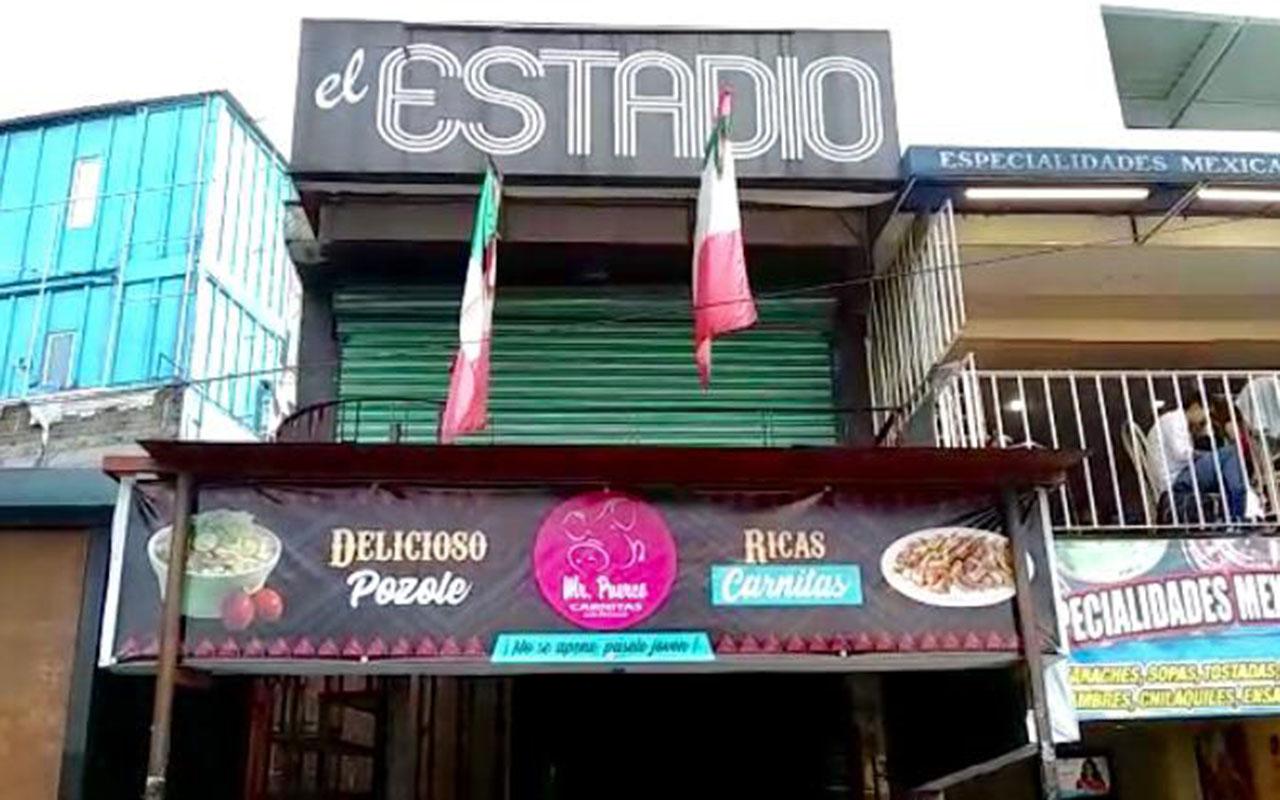 El Estadio, Ciudad Universitaria, UNAM, balacera, heridos, Copilco, Metro,