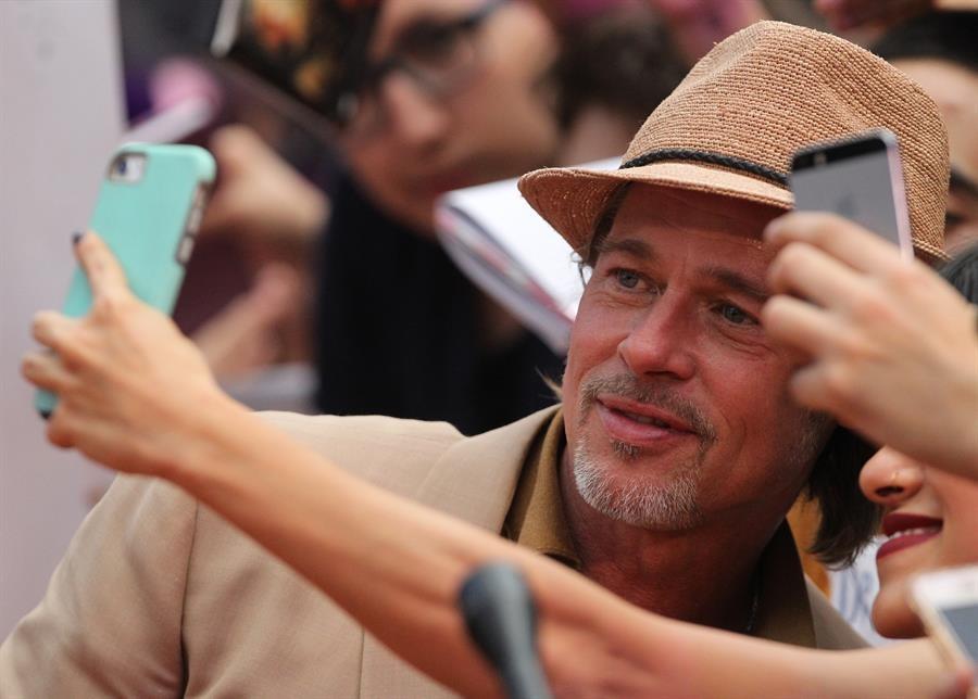 Brad Pitt acude a premier en México