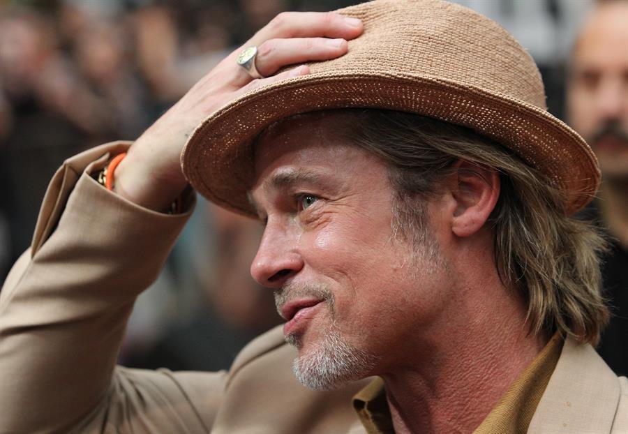 """Brad Pitt en la premier en CDMX de """"Había una vez... en Hollywood"""""""