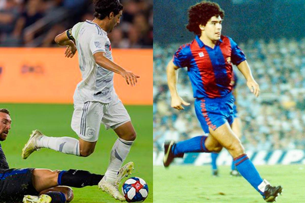 Carlos Vela, Maradona, MLS