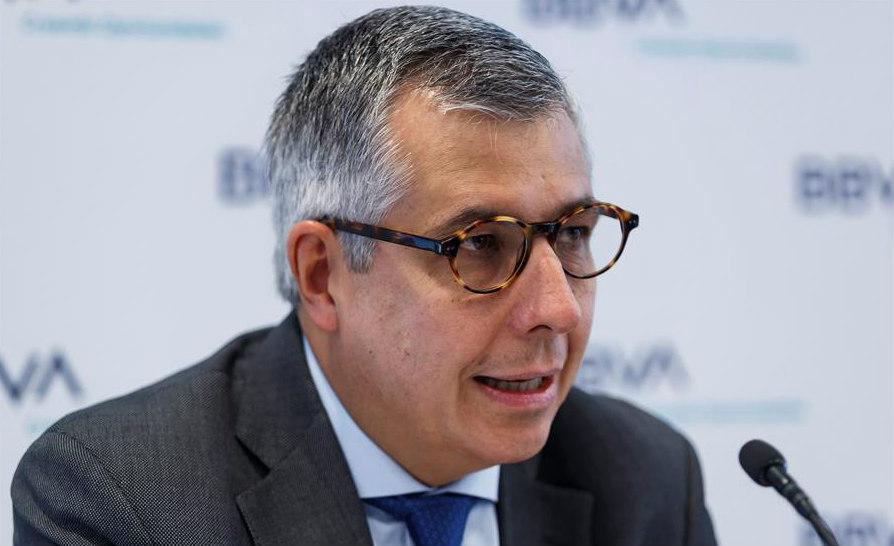 Carlos Serrano, economista jefe de BBVA en México (EFE)