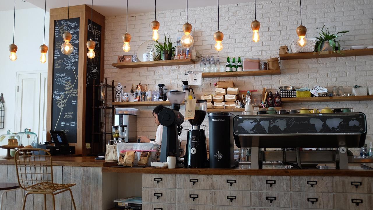 Desempleo, cafetería, Pymes