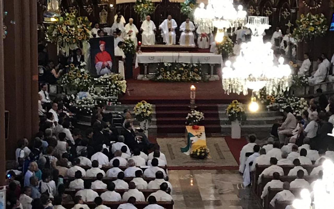 Sergio Obeso, cardenal, Xalapa, Iglesia, Obispos, sacerdotes, Veracruz,