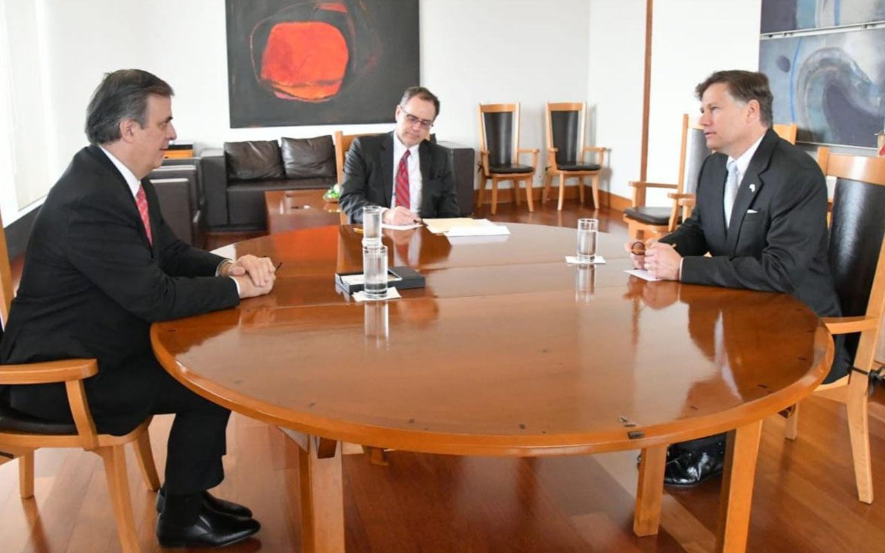 Christopher Landau, Marcelo Ebrard Casaubón, T-MEC, Embajador, Estados Unidos,