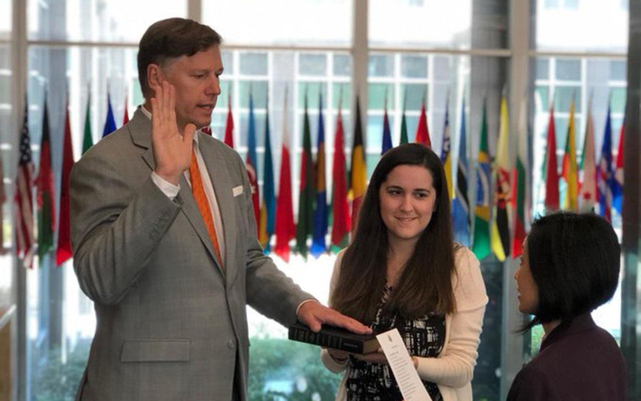 Christopher Landau, embajador de EU en México, Estados Unidos, embajada, Roberta Jacobson, Donald Trump,
