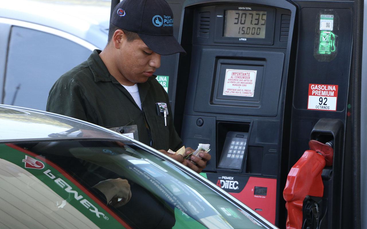 Tabasco, Gasolina, premium, Magna, gasolinería, Profeco,