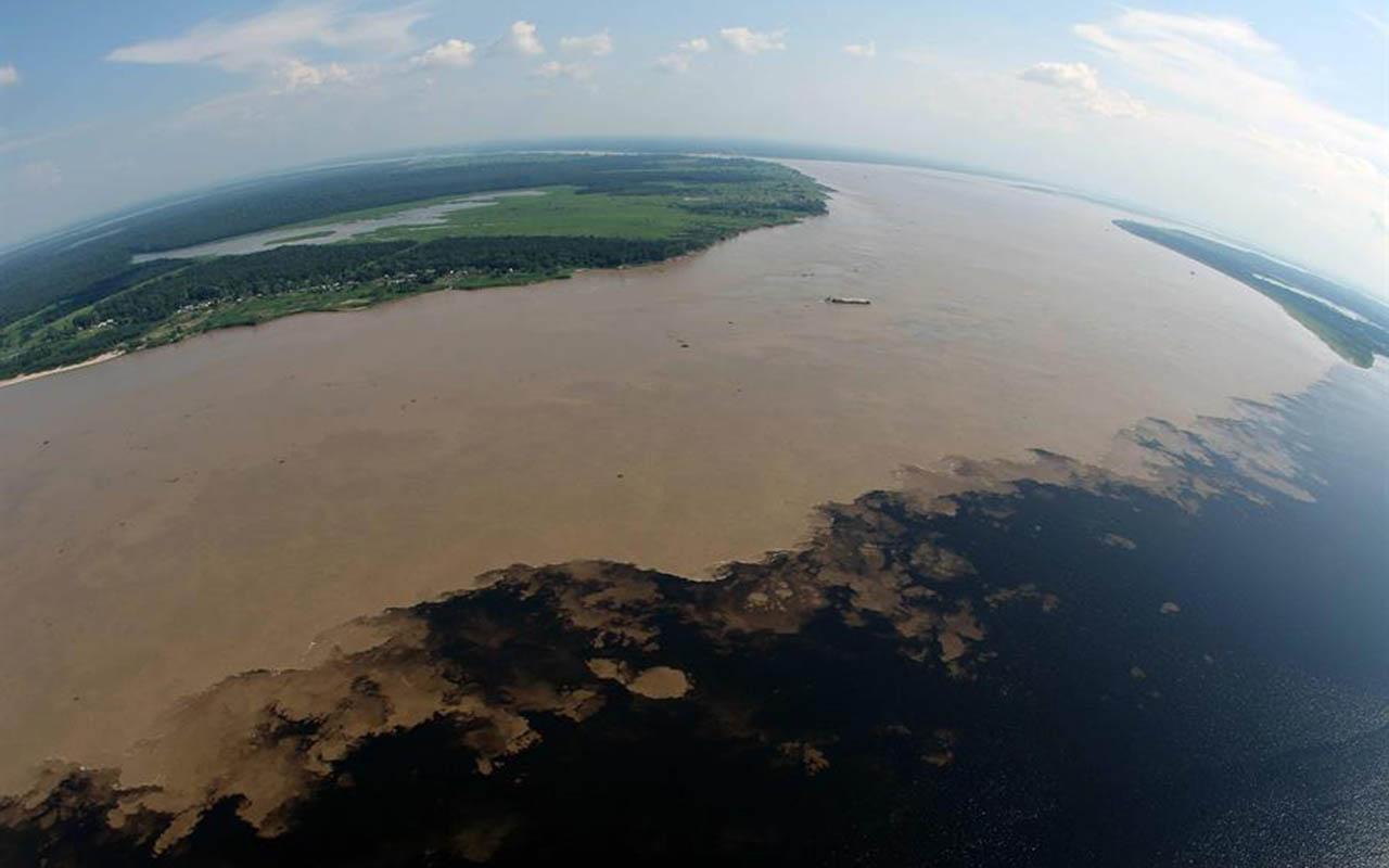 Aspecto de los incendios en el Amazonas