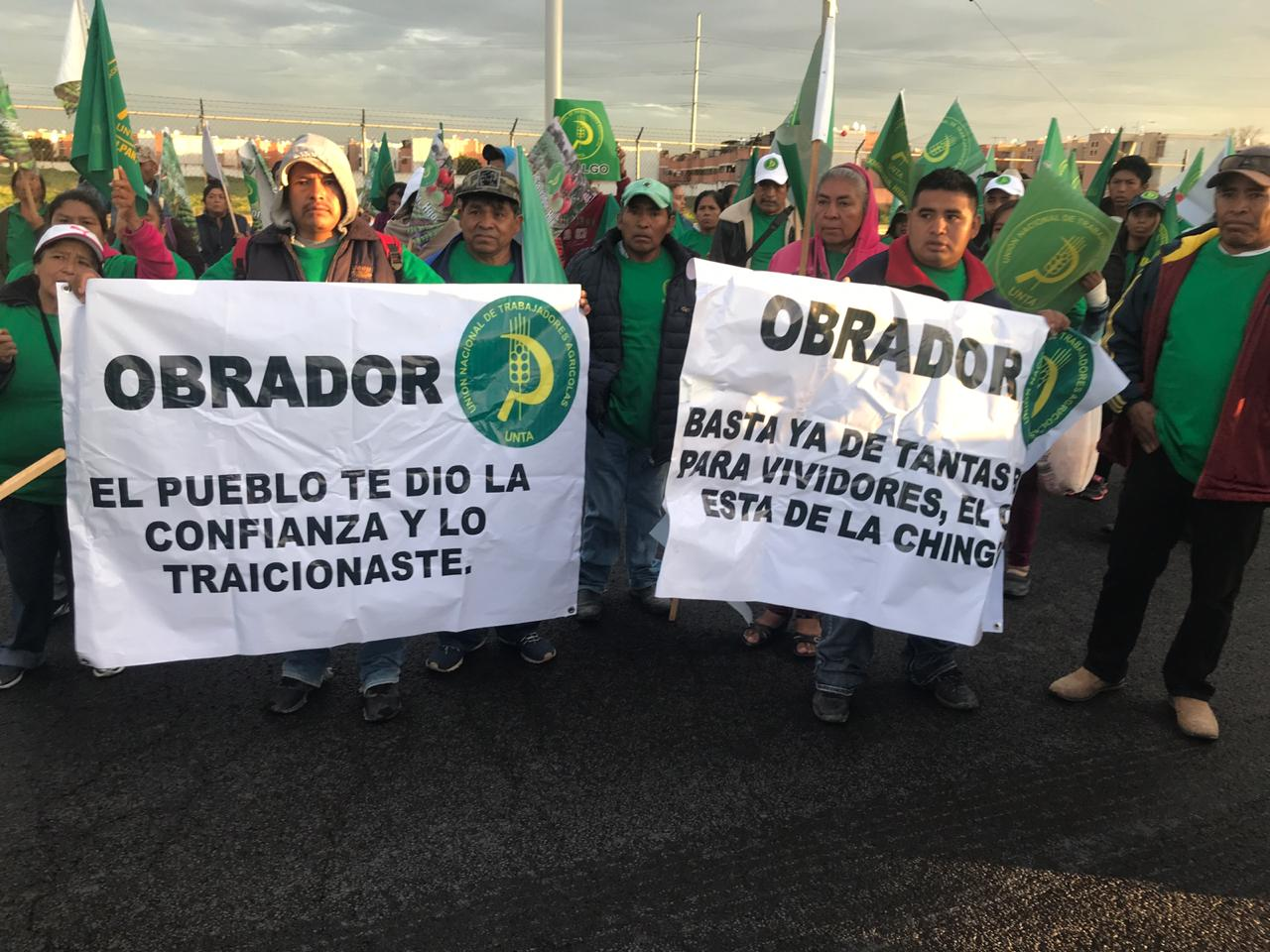 manifestaciones, campesinos, CDMX